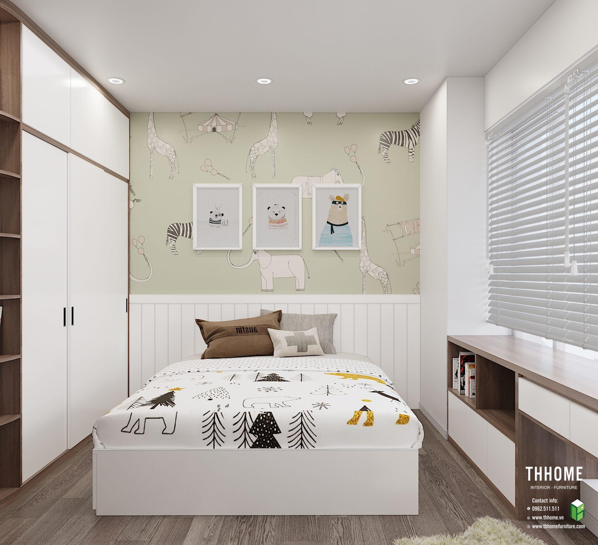Phòng ngủ của thành viên nhỏ