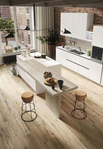 Mỗi phòng bếp là một không gian nghệ thuật đỉnh cao
