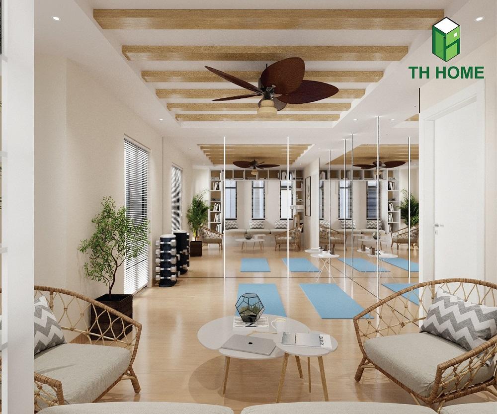 phòng đọc sách thoải mái, dễ chịu của biệt thự liền kề vinhomes ocean park