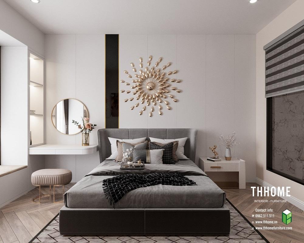 phòng ngủ căn hộ 15a12