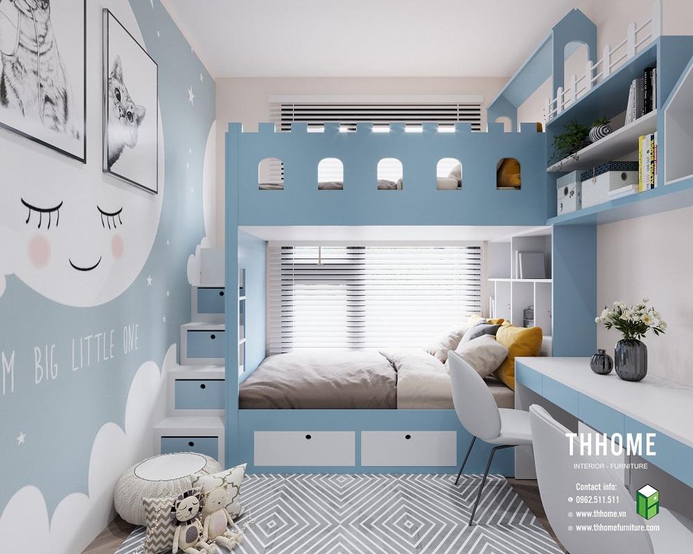 phòng ngủ con thứ 1 tại căn hộ 15a12