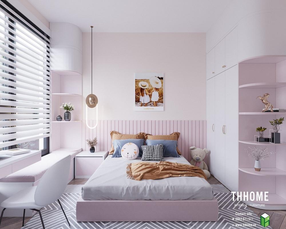 phòng ngủ 2 đáng yêu tại căn hộ 15a12
