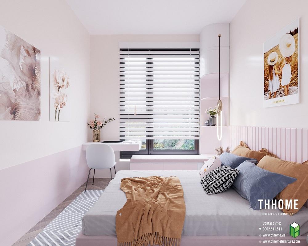 phòng ngủ con thứ 2 tại căn hộ 15a12