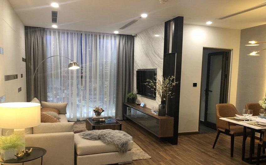 nội thất căn hộ mẫu mipec rubik 360