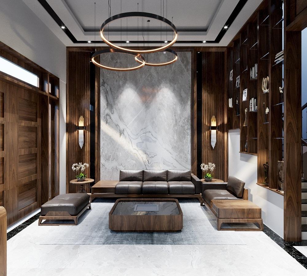 nội thất phòng khách tự nhiên