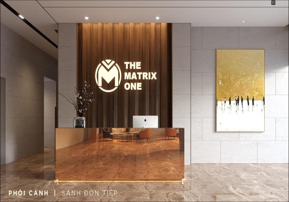 sảnh chung cư The Matrix One