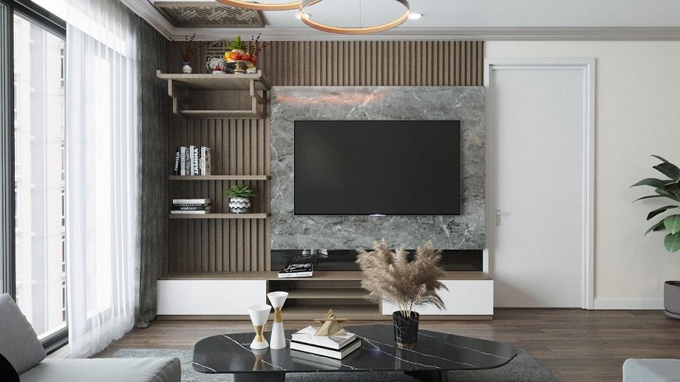 nội thất hiện đại của TH Home