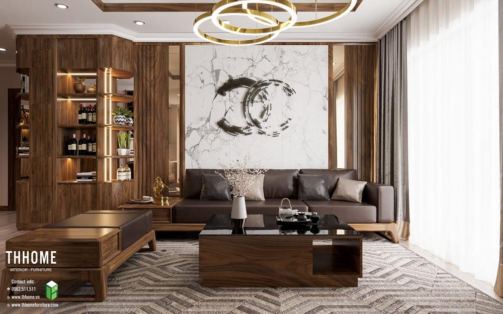 nội thất TH Home thiết kế biệt thự