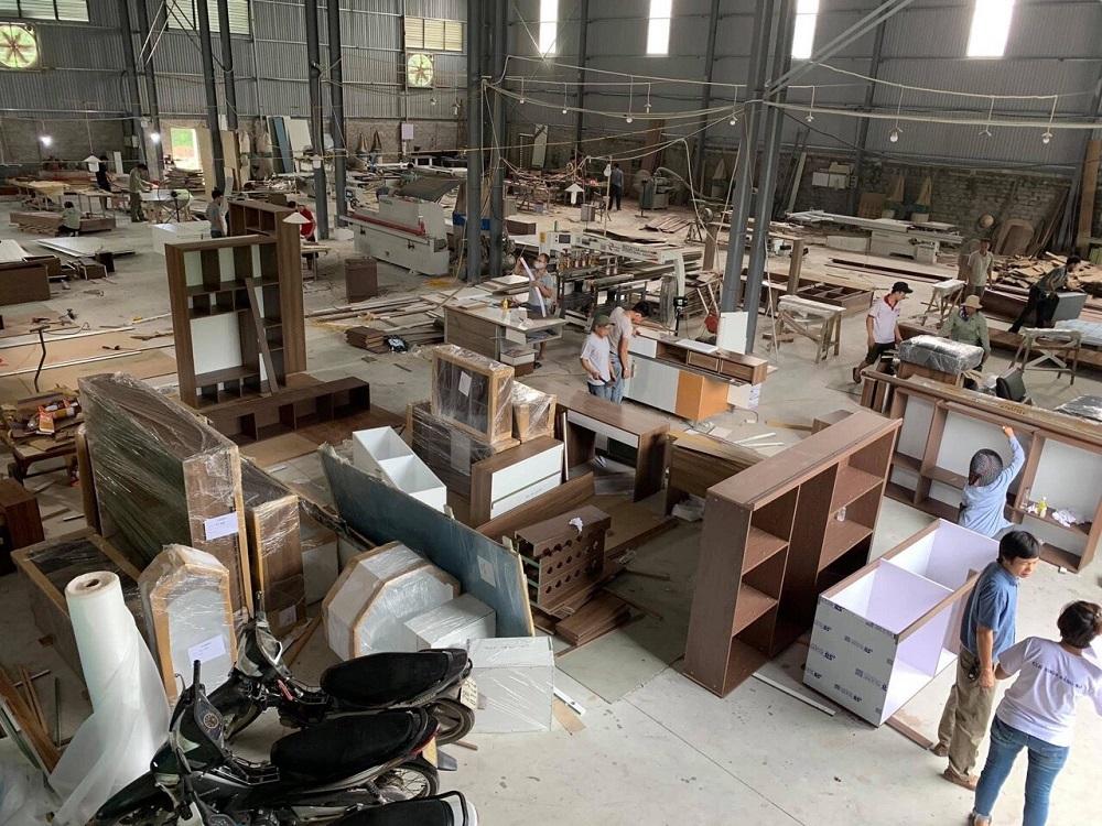 Xưởng sản xuất nội thất gỗ óc chó NaduDesign