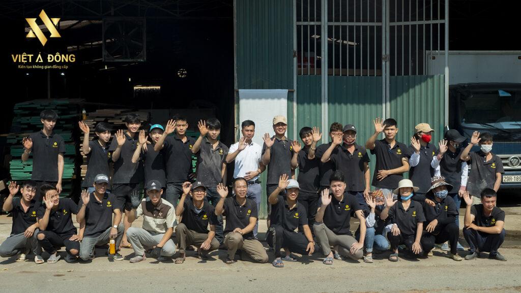 Xưởng nội thất gỗ óc chó Việt Á Đông