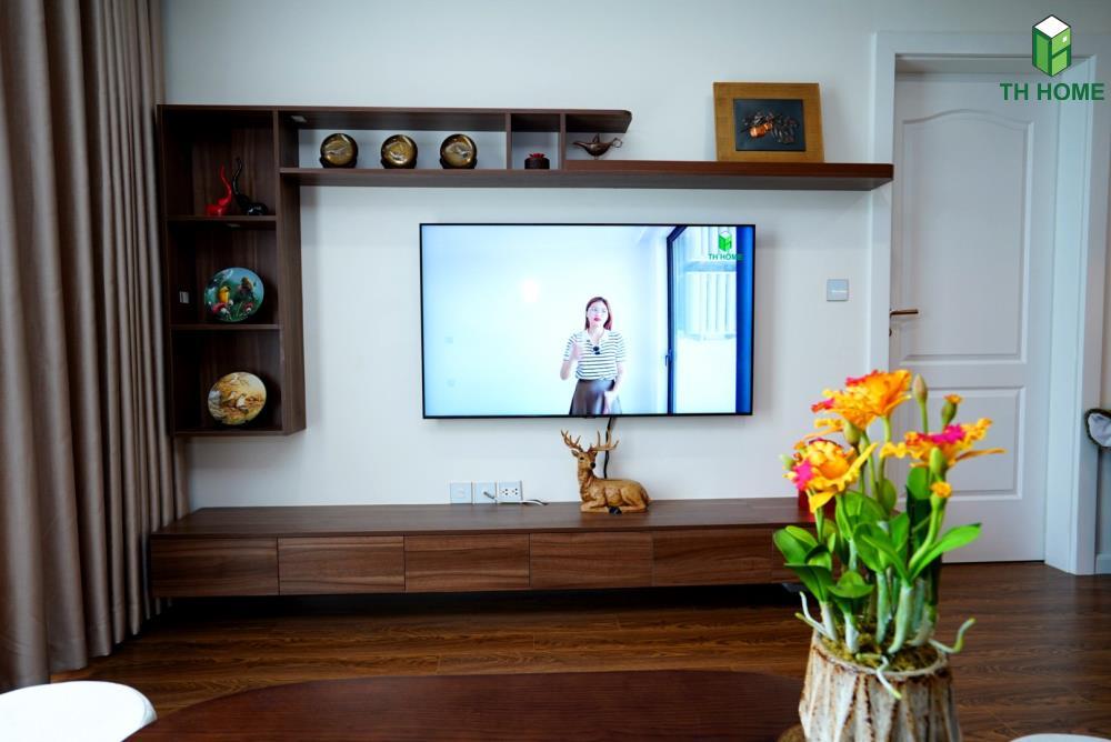 chất liệu gỗ công nghiệp sử dụng trong căn hộ chung cư sunshine garden