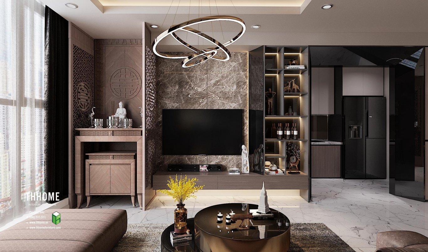 Phong cách thiết kế nội thất nhà hiện đại