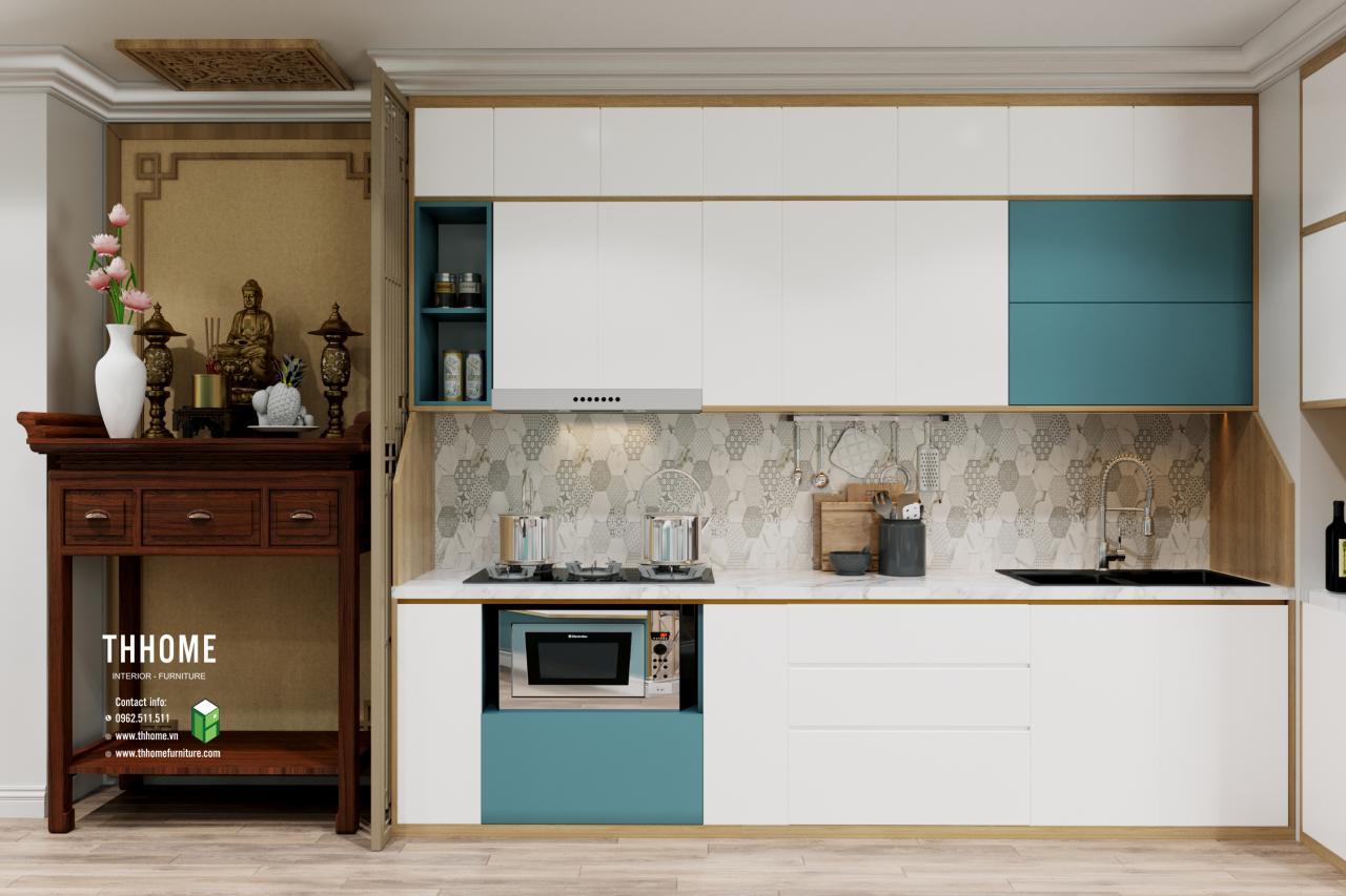 Tủ bếp chung cư Vinaconex
