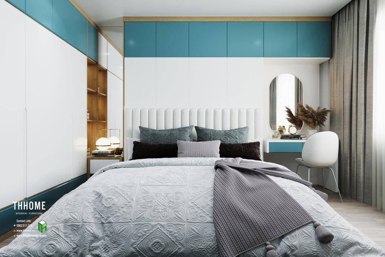 Phòng ngủ chung cư vinaconex