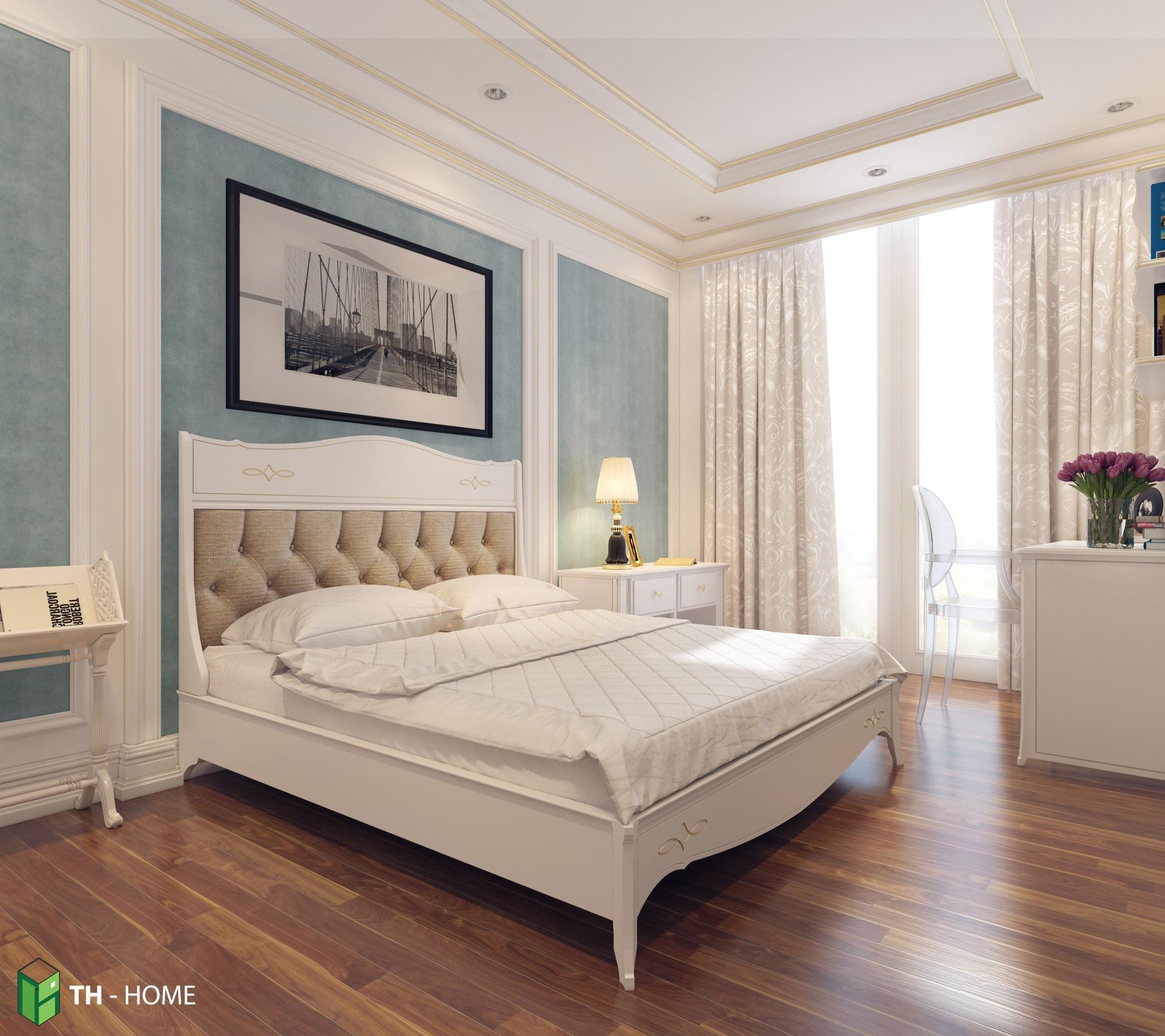 Phòng ngủ thoải mái, nơi ấp iu những giấc mơ đẹp