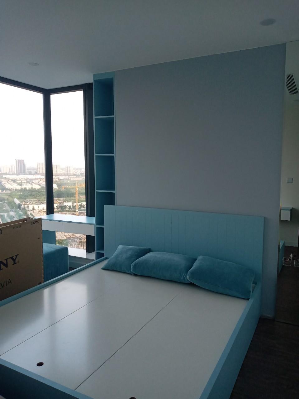 Phòng ngủ căn hộ cao cấp Sunshine city