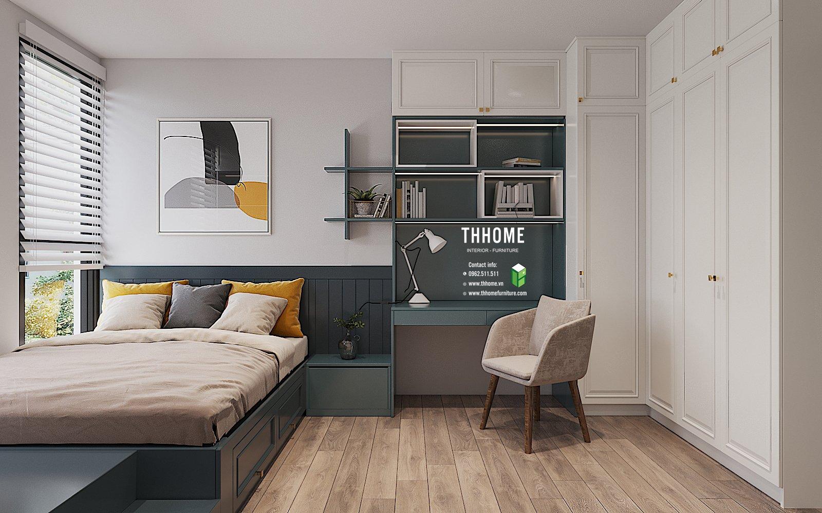 Phòng ngủ đẹp lạ dành cho các thành viên nhỏ tuổi trong gia đình