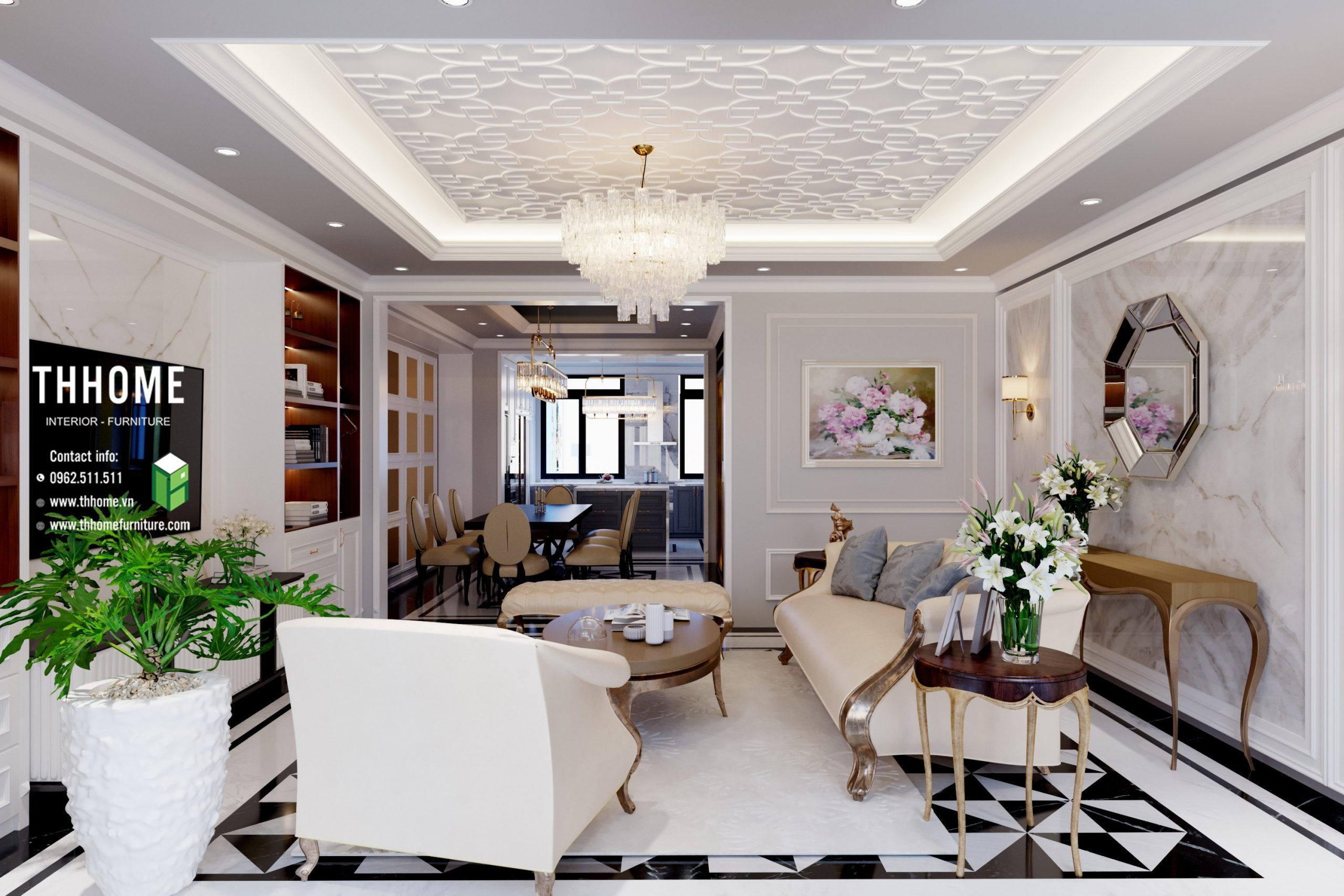 thiết kế thi công nội thất trọn gói là sự lựa chọn đúng đắn