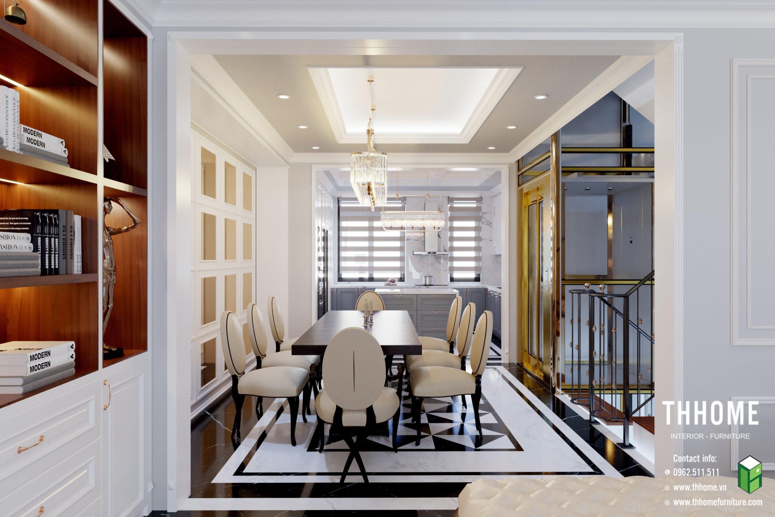 Lựa chọn dịch vụ thiết kế thi công nội thất trọn gói của TH Home