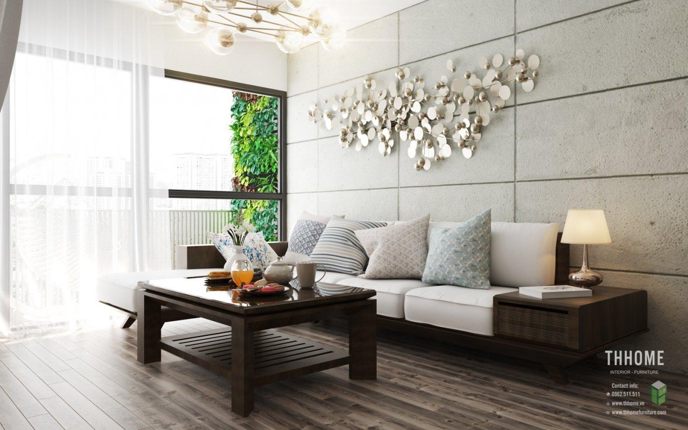 Sàn gỗ và tường được thiết kế bằng những vật liệu cao cấp