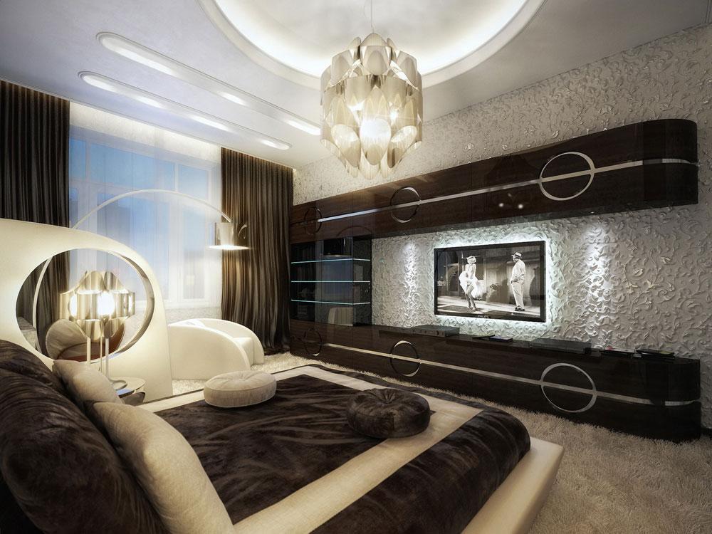 Sự gọn gàng và tính thẩm mĩ cao mà căn phòng đem tới nhờ nguyên tắc cân bằng trong thiết kế