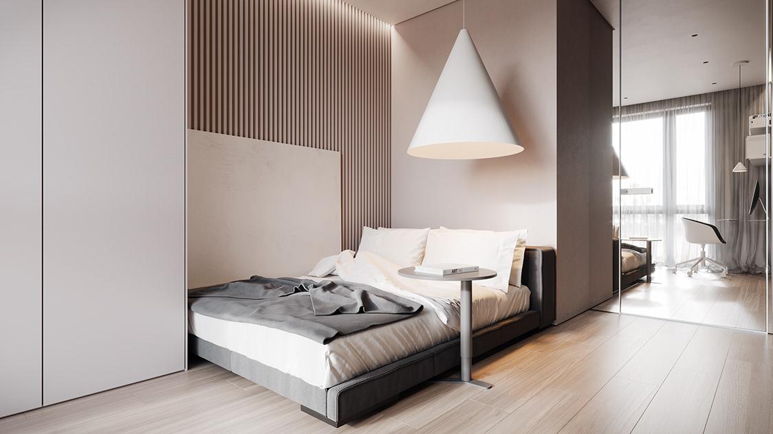 Phong cách thúc đẩy sự đơn giản và trừu tượng bằng cách giảm các thiết kế hình học và màu sắc