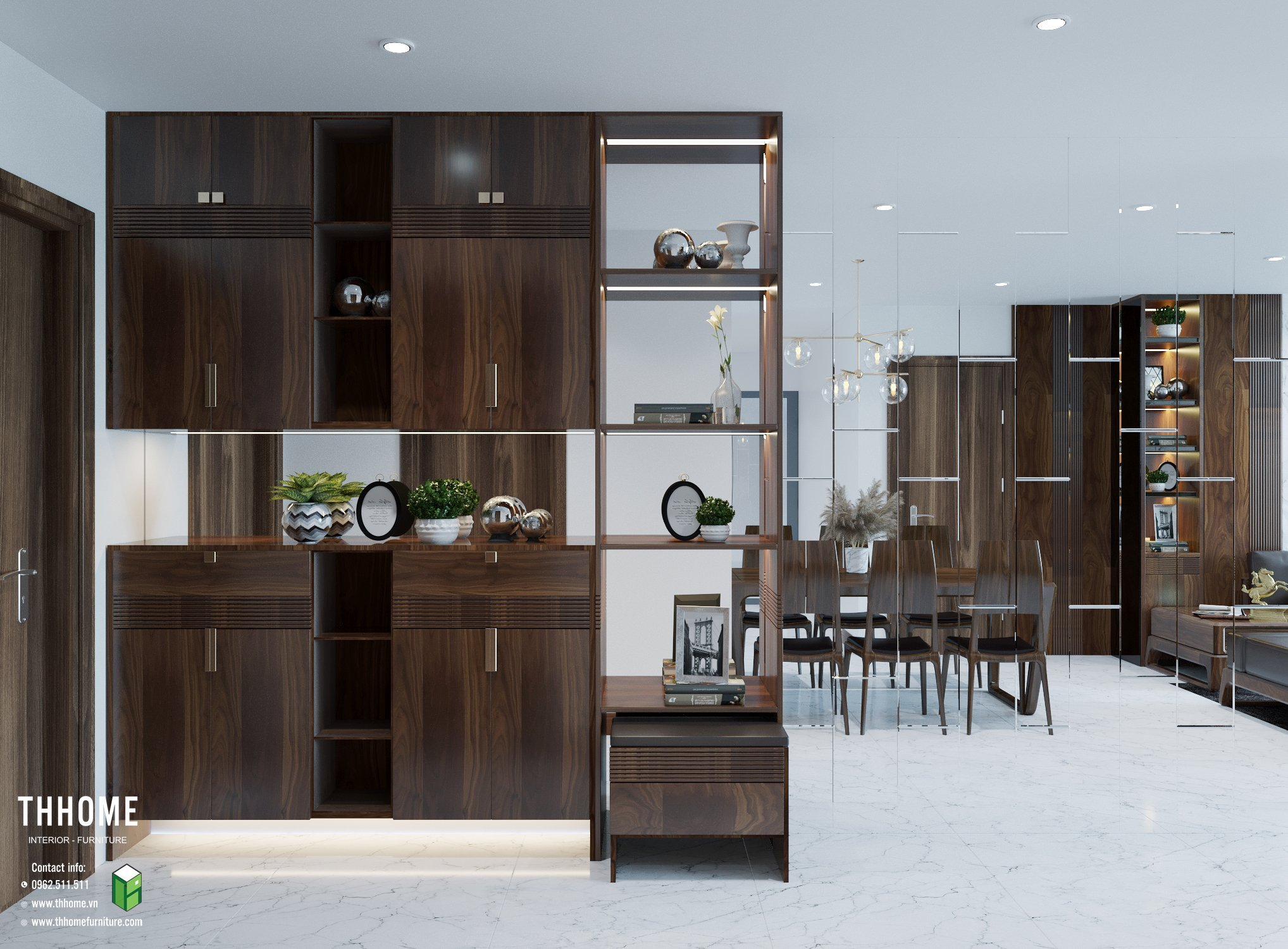 thi công nội thất gỗ tự nhiên