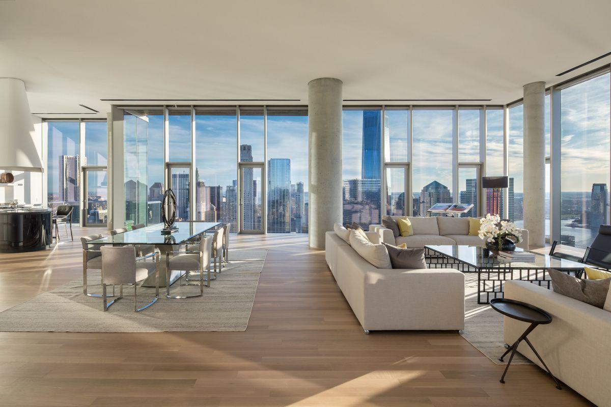 Không gian thoáng mát tối ưu mà penthouse đem lại.