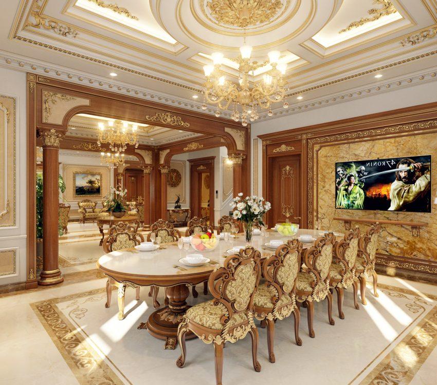Thiết kế nội thất phong cách cổ điển