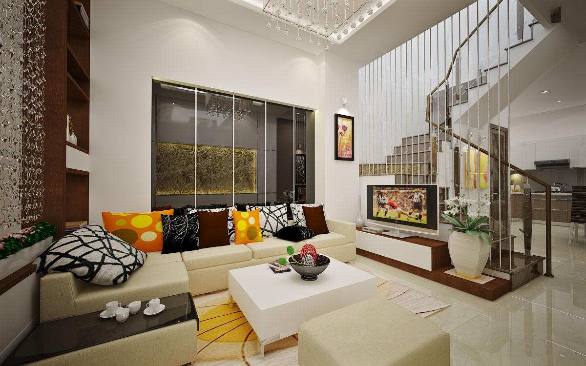 Không gian nhà ở với nét thanh lịch, nhẹ nhàng