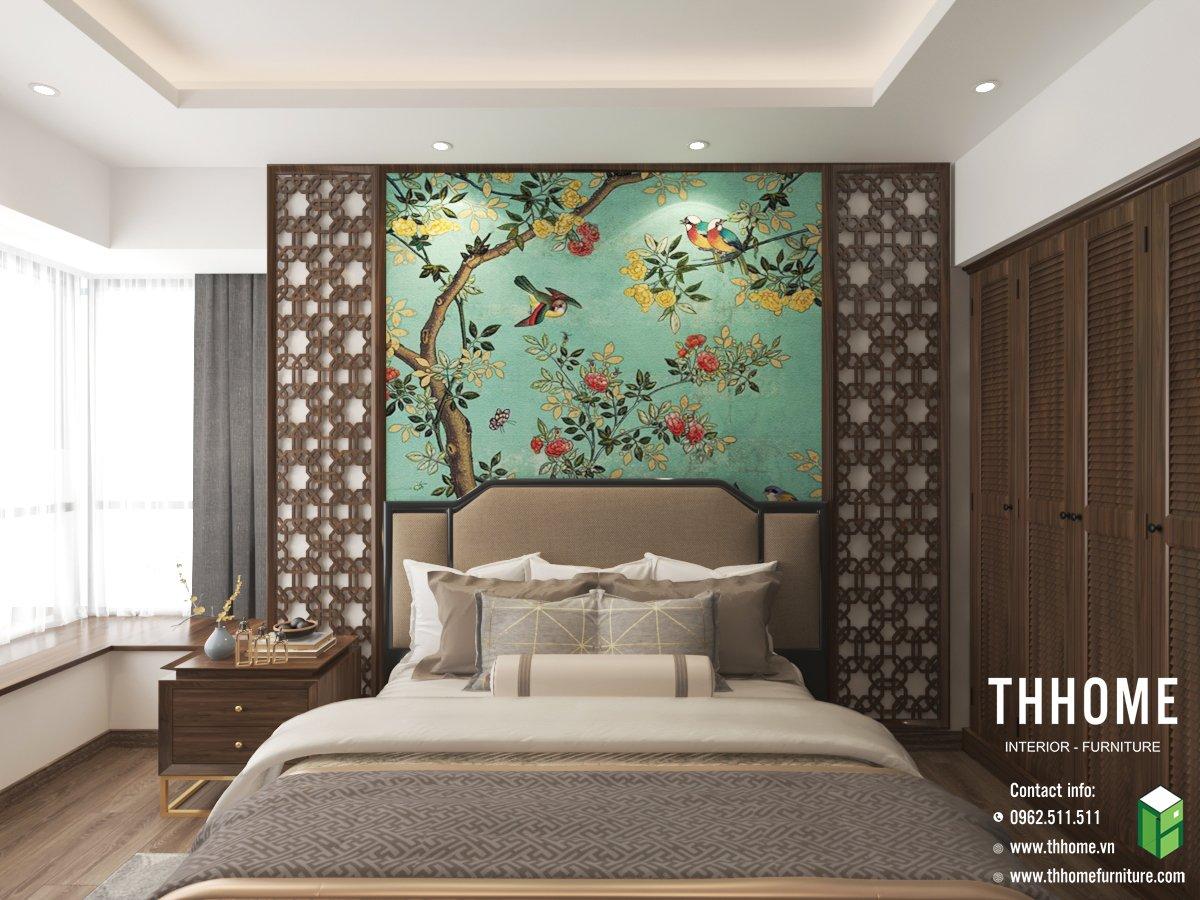 Màu sắc của căn phòng ngủ cần thống nhất với phong cách chủ đạo và màu sắc tổng thể của ngôi nhà