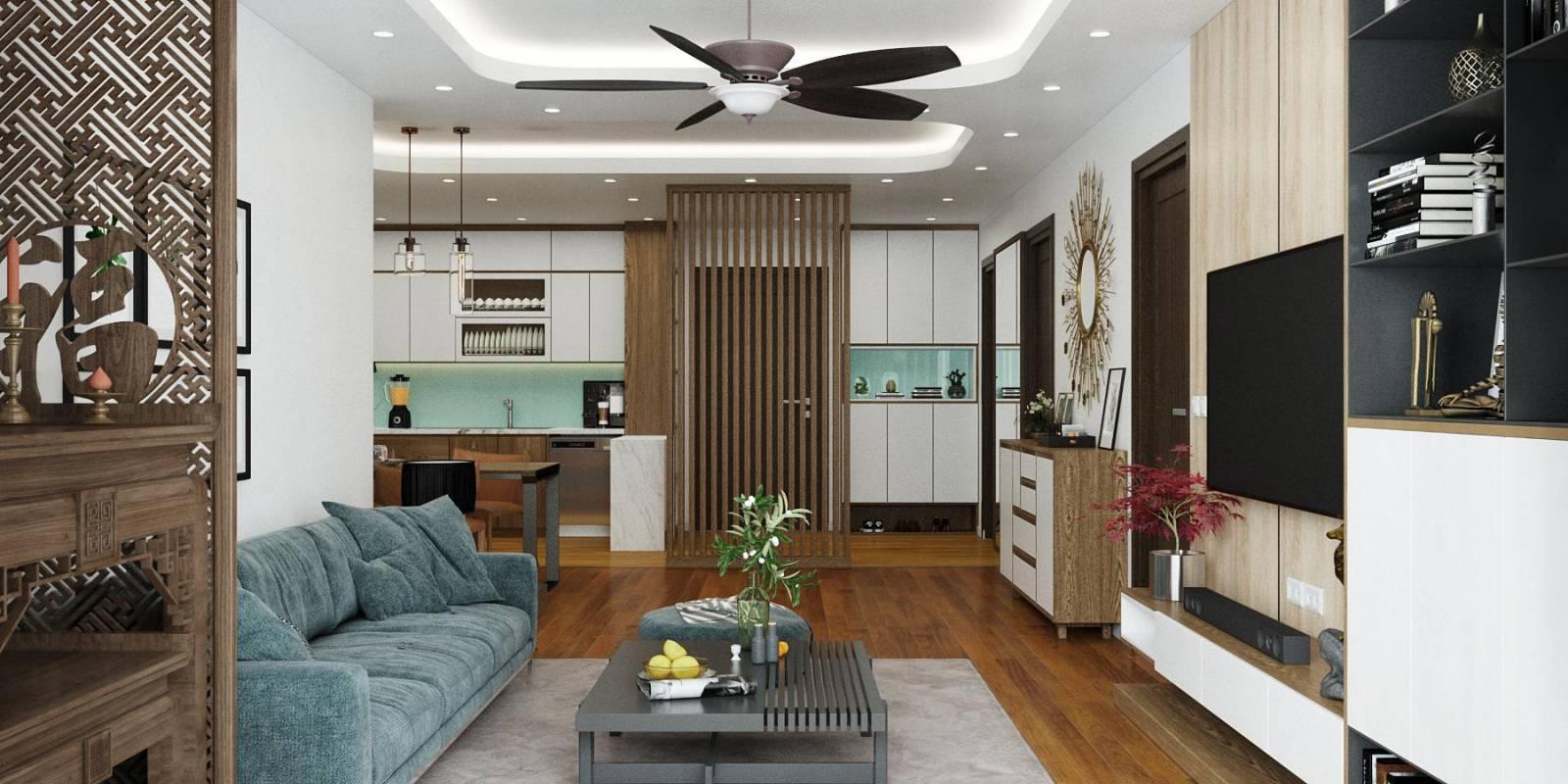 Mẫu thiết kế nội thất căn hộ chung cư đẹp nhất phù hợp mọi gia chủ