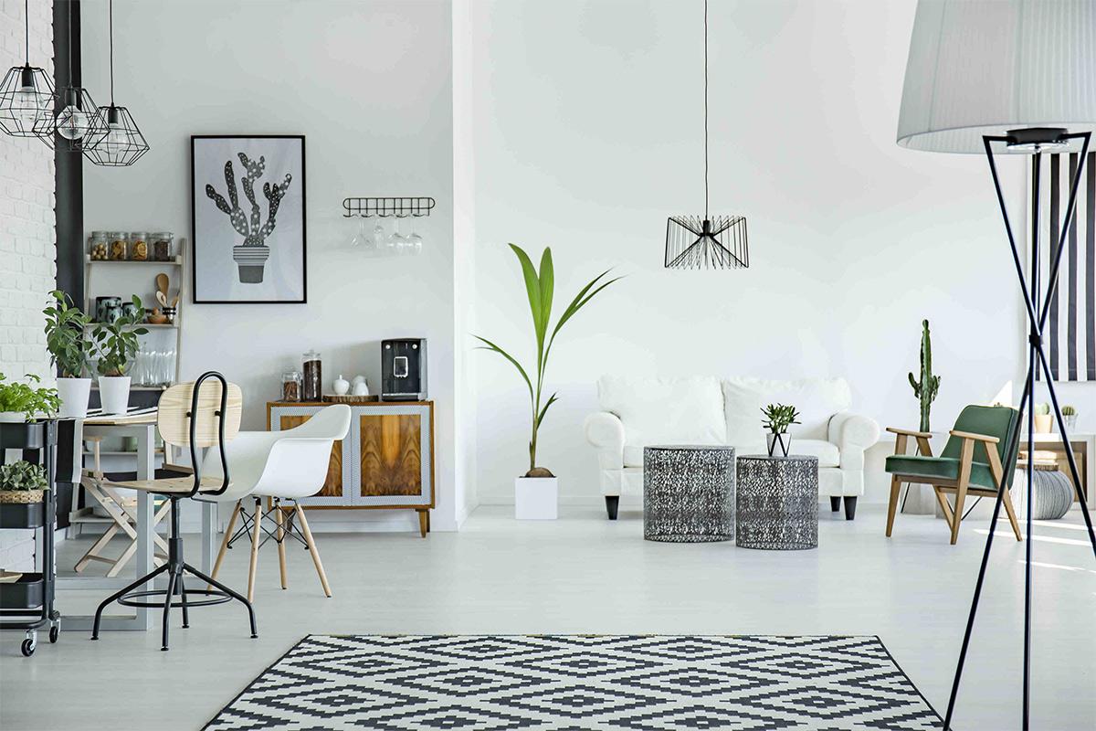 Phong cách Scandinavian đơn giản tinh tế và tiện nghi cho nội thất căn hộ