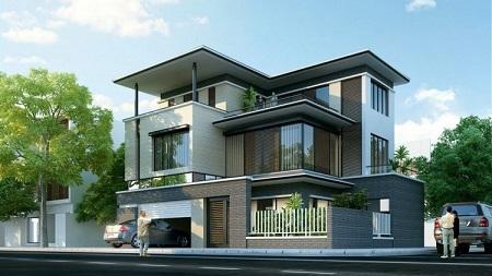 thiết kế nhà đẹp 3 tầng8